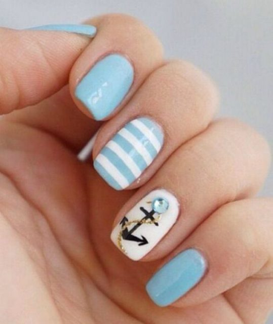 30 Pretty Nail Designs For Summer Thrive